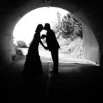 Anchorage Wedding: Kristen & Brandon Around Anchorage by Heather Thamm