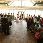 Anchorage Wedding: Erin & Joy at Kincaid Park Chalet by Joe Connolly