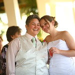 Anchorage Wedding: Erin & Joy at Kincaid Park Chalet by Joe Connolly