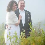 Anchorage Wedding: Karen & Tom at the Alpenglow Ski Chalet