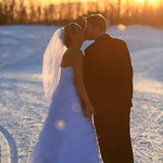 Anchorage Wedding: Holly & Brandon at Kincaid Park Chalet by Joe Connolly