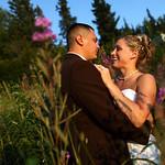 Anchorage Wedding: Jesi & Roger at Hilltop Ski Chalet