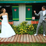 Anchorage Wedding: Jaime & Jake at Hilltop Ski Chalet by Heather Thamm