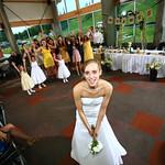 Anchorage Wedding: Jaime & Jake at Hilltop Ski Chalet by Heather Thamm