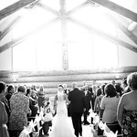 Girdwood Wedding: Katelyn and Stephen At Our Lady of the Snows Chapel by Nick Gillespie