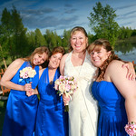 Anchorage Wedding: Kathleen & Daniel at Bayshore Clubhouse by Ralph Kristopher