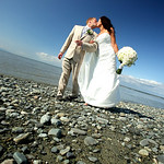 Anchorage Wedding: Elise & Adam in Downtown Anchorage by Joe Connolly