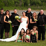 Anchorage Wedding: Lisa & Derek at Bayshore Clubhouse by Karen Hilton