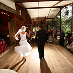 Girdwood Wedding: Lil & Nick at Raven Glacier Lodge by Joe Connolly