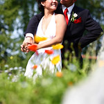 Anchorage Wedding: Kyong & Brian at a Private Residence