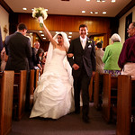 Anchorage Wedding: Megan & Aaronat Holy Family Cathedral by Joe Connolly