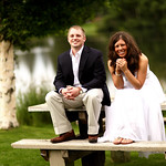 Anchorage Wedding: Kjersti & Nick at a Private Residence by Joe Connolly