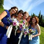 Anchorage Wedding: Christina & Thomas at Hilltop Ski Chalet by Joe Connolly