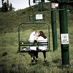 Anchorage Wedding: Christina & Thomas at Hilltop Ski Chalet by Joe Connolly