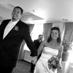 Anchorage Wedding: Shelley & Brian at the Sheraton Hotel by Joe Connolly