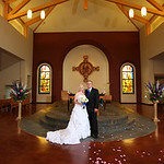Anchorage Wedding: Laura & Sean at Our Lady of Guadalupe by Philip Casey Anchorage Wedding: Laura & Sean at the Bill Sheffield Railroad Depot by Philip Casey