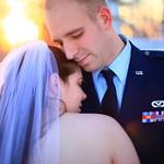 Anchorage Wedding: Sarah & Shaun at Elmendorf 611th Chalet by Josh Martinez