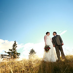 Anchorage Wedding: Signe & Marco at Kincaid Park Chalet by Joe Connolly
