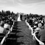 Anchorage Wedding: Shannon & Josh at Kincaid Park by Joe Connolly