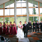 Anchorage Wedding: Stacey & Charles at the Hilltop Ski Chalet by Heather Thamm