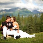 Anchorage Wedding: Lindsey & Martin at O'Malley's on the Green by Joe Connolly