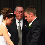 Anchorage Wedding: Jenna & Geoff at Muldoon Community Assembly by Joe Connolly