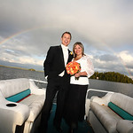 Big Lake Wedding: Christina & Michael at a Private Residence by Dan Anderson