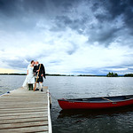 Big Lake Wedding: Catharine & Ben at Sunset View Resort by Josh Martinez