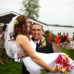 Big Lake Wedding: Bianca & Jeff at Sunset View Resort by Joe Connolly