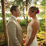 Big Lake Wedding: Katie & Mark at a Private Residence