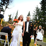 Cooper Landing Wedding: Yvette & Brian at Alaska Heavenly Lodge