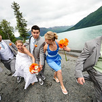Cooper Landing Wedding: Laura & Charles at Alaska Heavenly Lodge by Josh Martinez