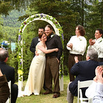 Natalie & Nick at the Alaska Heavenly Lodge by Joe Connolly