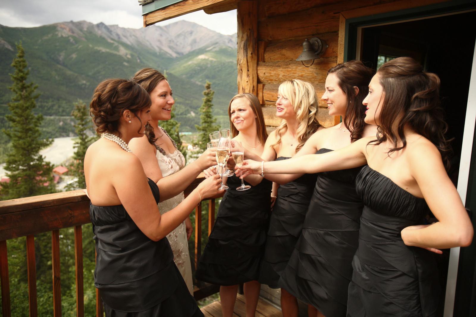 Denali Wedding: Kristin U0026 Trent At Grande Denali Lodge By Joe Connolly