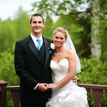 Eagle River Wedding: Carly & Steven at a Private Residence by Josh Martinez