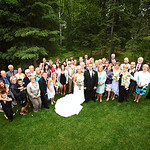 Eagle River Wedding: Jessica & Bjorn at a Private Residence by Joe Connolly