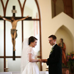 Eagle River Wedding: Katy & Michael at St. Andrews Catholic Church by Josh Martinez