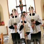 Eagle River Wedding: Katy & Michael at St. Andrews Catholic Church by Josh Martinez