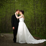 Eagle River Wedding: Katy & Michael at the Eagle River Nature Center by Josh Martinez
