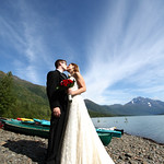 Eklutna Lake Wedding: Kelsey & Erik