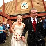 Fairbanks Wedding: Rachel & Michael at Alaskaland by Joe Connolly