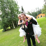 Fairbanks Wedding: Jessica & Ian at the Wedgewood Resort