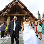 Girdwood Wedding: Martina & Jasen at Our Lady of the Snows by Chris Beck