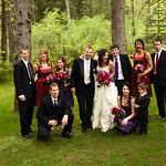 Girdwood Wedding: Liz & Buddy at Raven Glacier Lodge by Joe Connolly