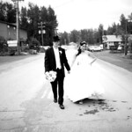 Girdwood Wedding: Jennifer & Logan in Downtown Girdwood by Joe Connolly