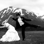 Girdwood Wedding: Jennifer & Logan at Moose Meadows by Joe Connolly