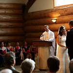 Girdwood Wedding: Megan & Vance at Our Lady of the Snows by Joe Connolly
