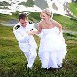 Girdwood Wedding: Jolene & Aaron at Alyeska Resort by Chris Beck