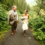 Girdwood Wedding: Beth & Lucus at Crow Creek Mine by Joe Connolly