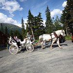 Girdwood Wedding: Lacey and Jim at Our Lady of the Snows by Joe Connolly